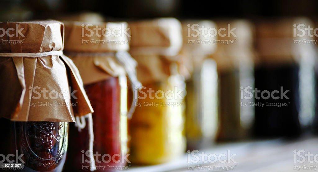Fruit Jars royalty-free stock photo