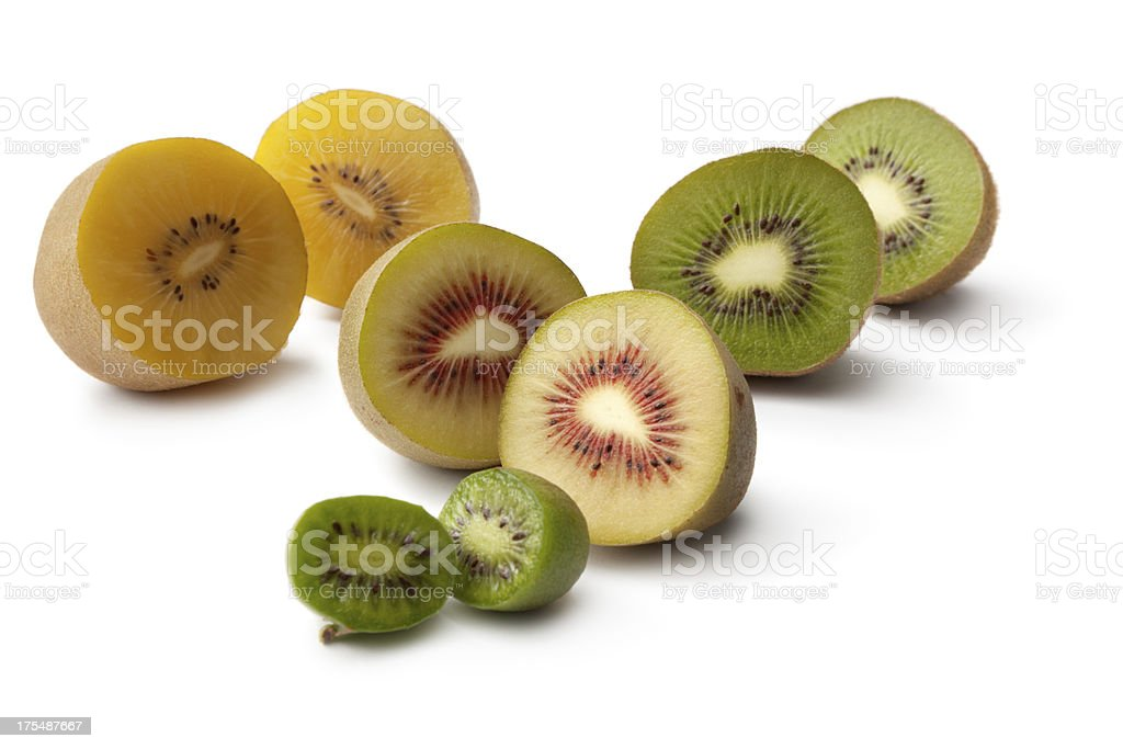 Fruit: Kiwi Collection royalty-free stock photo