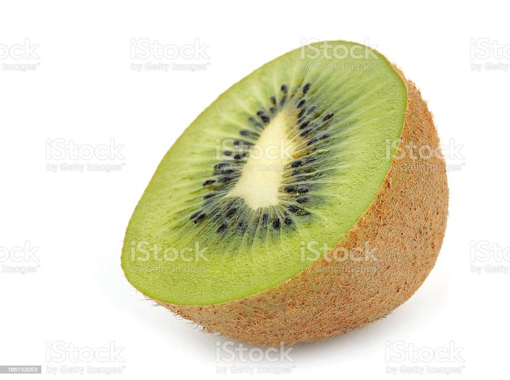 Fruit kiwi section royalty-free stock photo