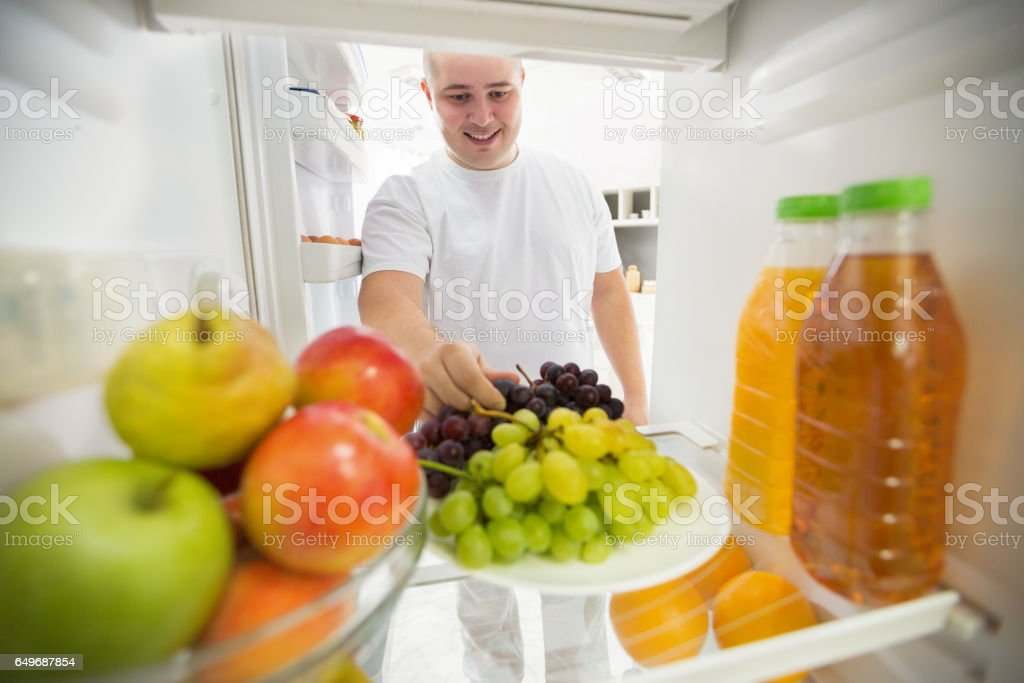 Fruit like good choice for healthy life stock photo
