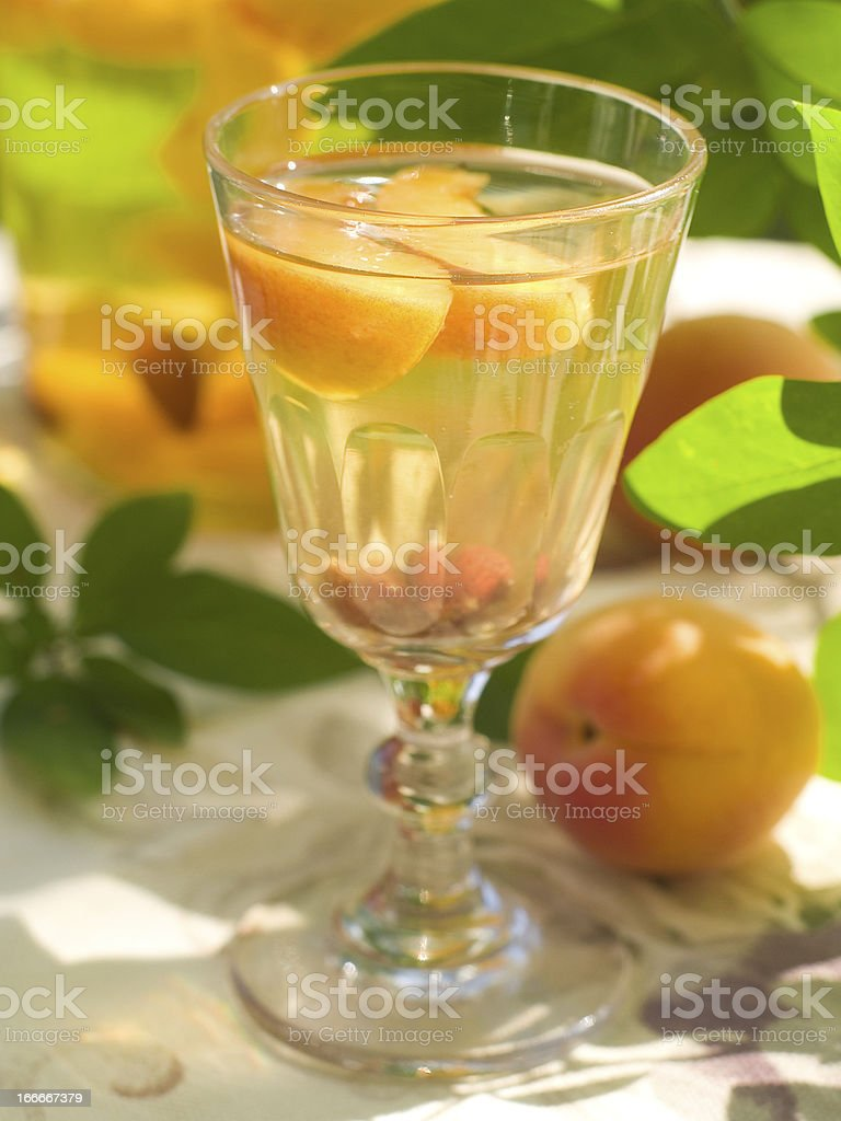 fruit liqueur royalty-free stock photo