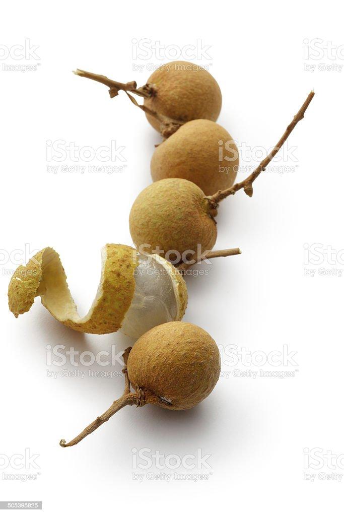Fruit: Longan stock photo