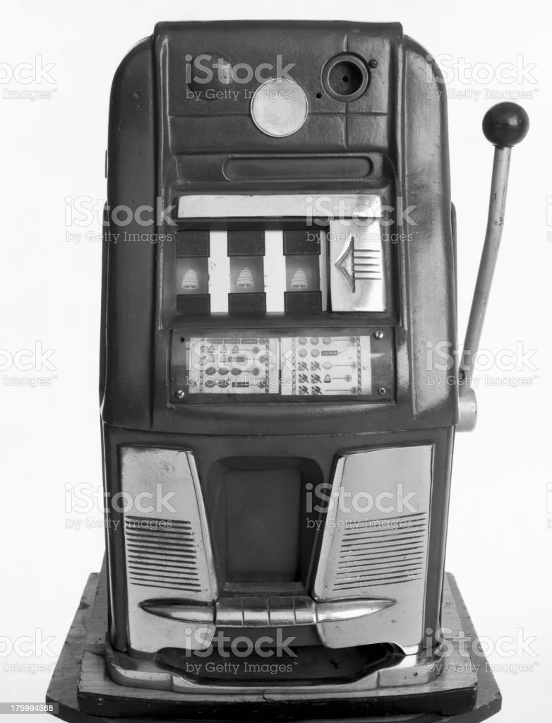 Fruit machine/slot machine royalty-free stock photo