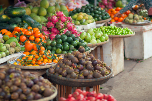 Fruit Market Stock Photo - Download Image Now