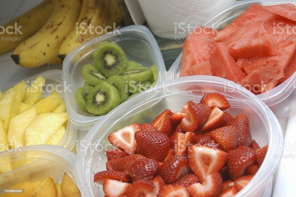Fruit medley stock photo
