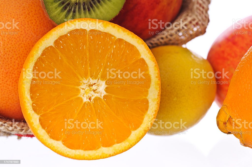 fruit mix royalty-free stock photo