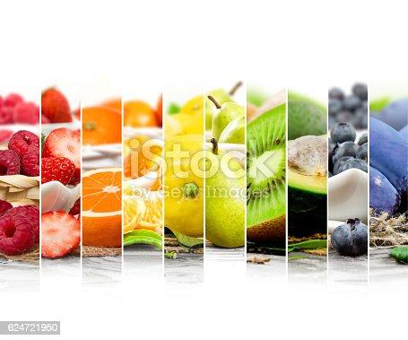 istock Fruit Mix Stripes 624721950