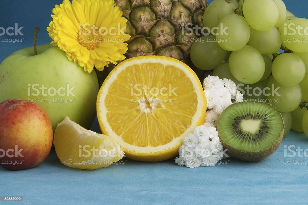 Pittura di frutta foto stock royalty-free