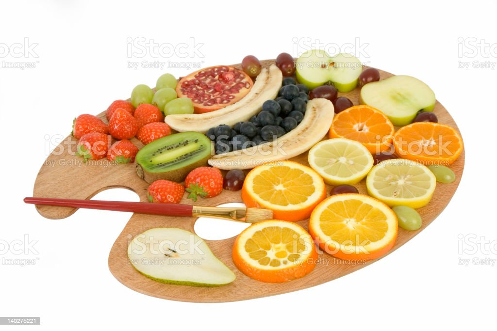 Fruit palette royalty-free stock photo