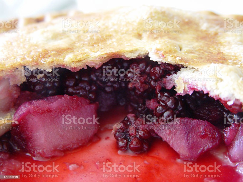 fruit pie home baked stock photo