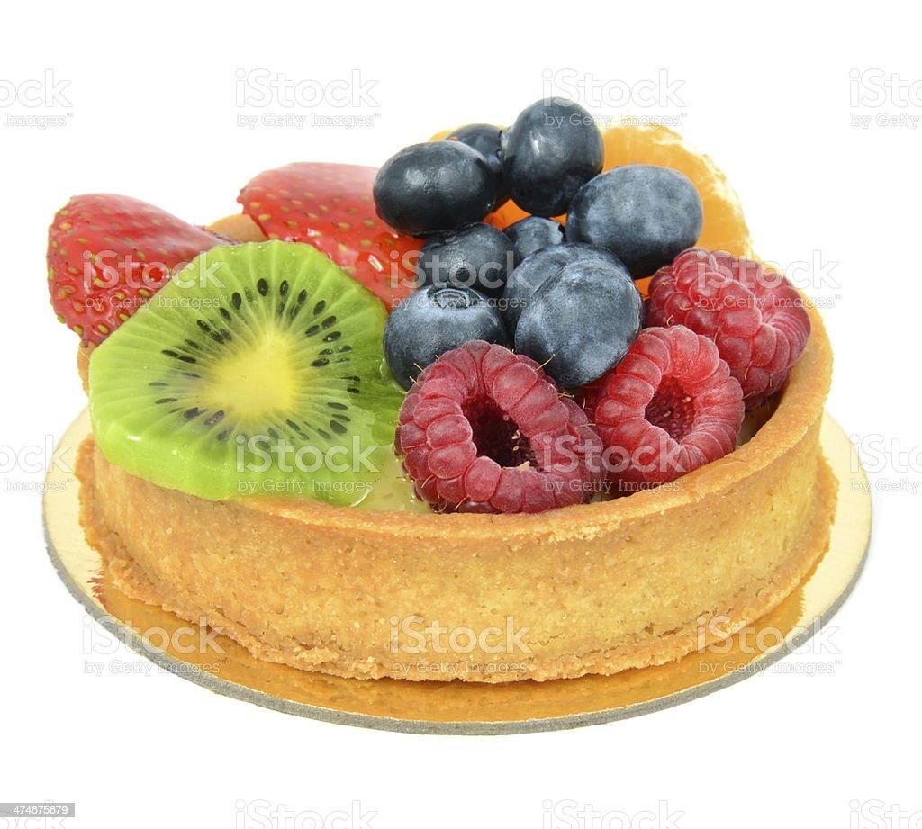 Pastel de frutas - foto de stock
