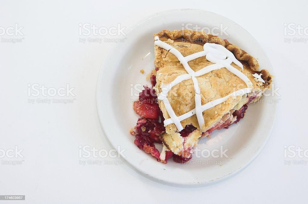 fruit pie slice royalty-free stock photo