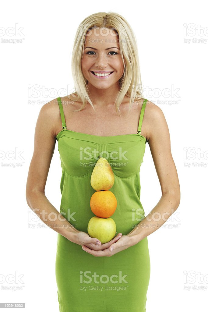 fruit pile royalty-free stock photo