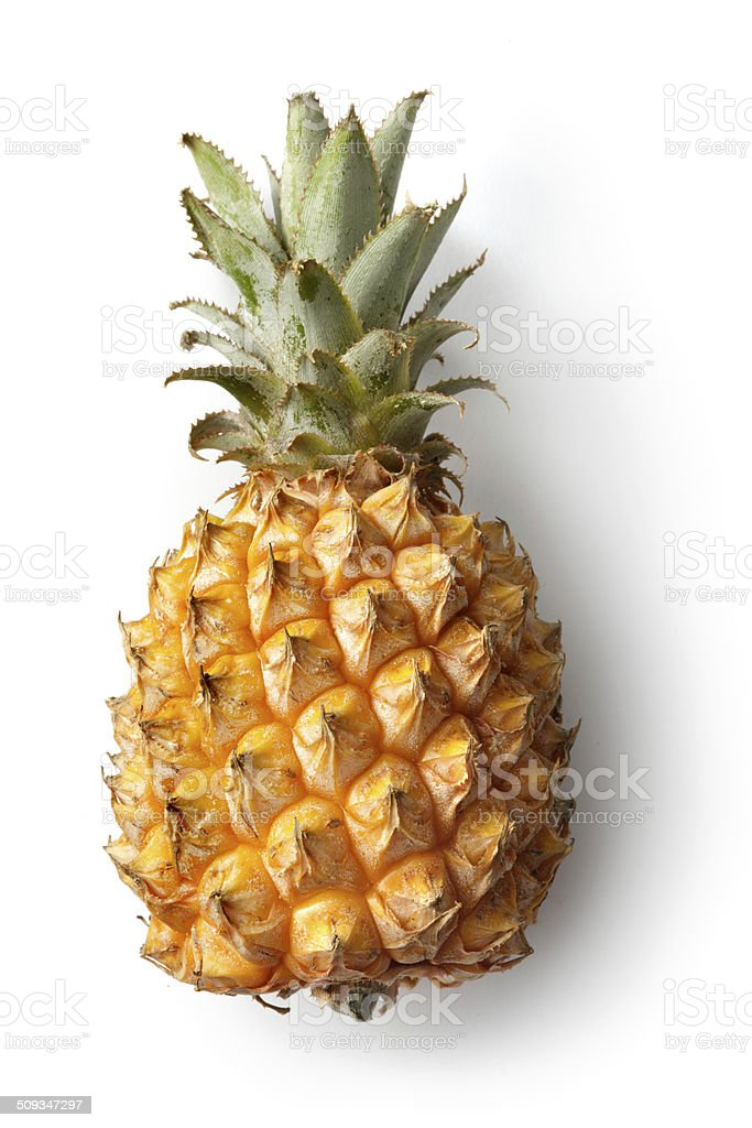 Fruits frais:  L'ananas - Photo