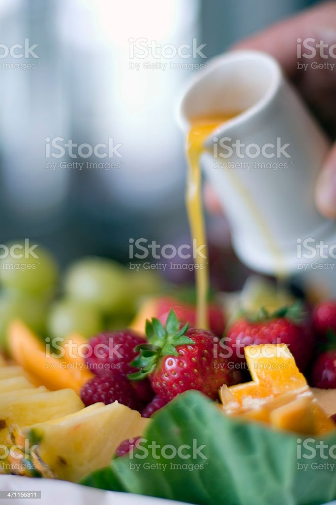 Fruit Plate royalty-free stock photo