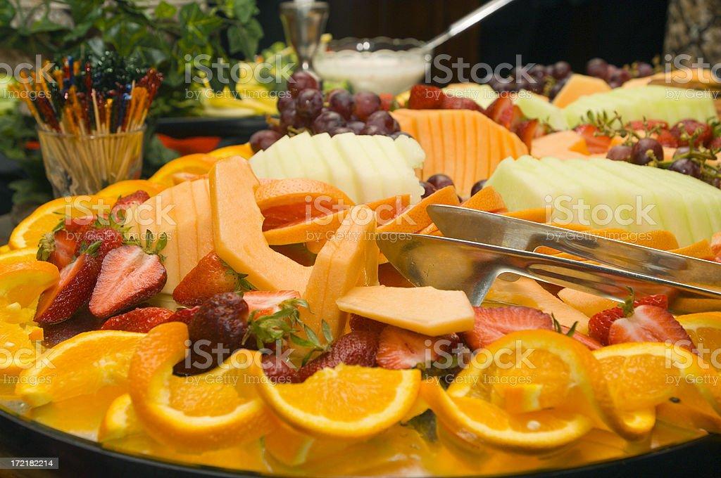 Fruit Platter royalty-free stock photo