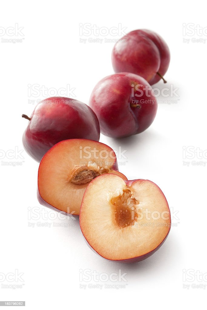 Fruit: Plum stock photo