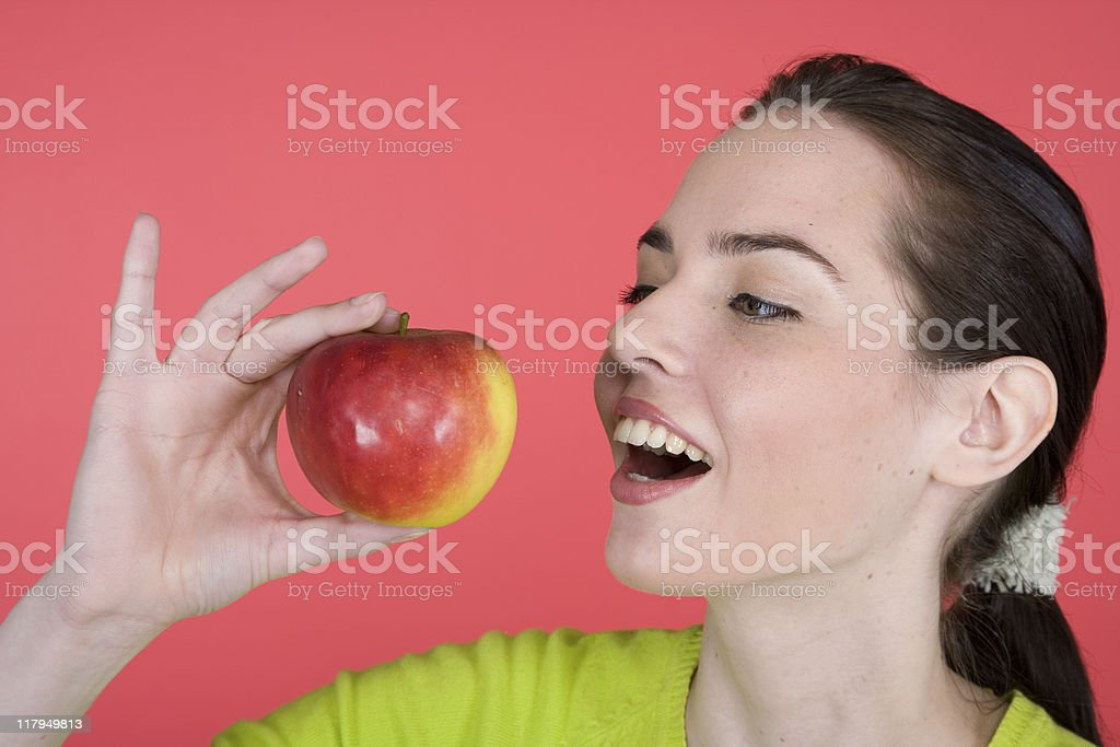 Fruit Portrait Series royalty-free stock photo