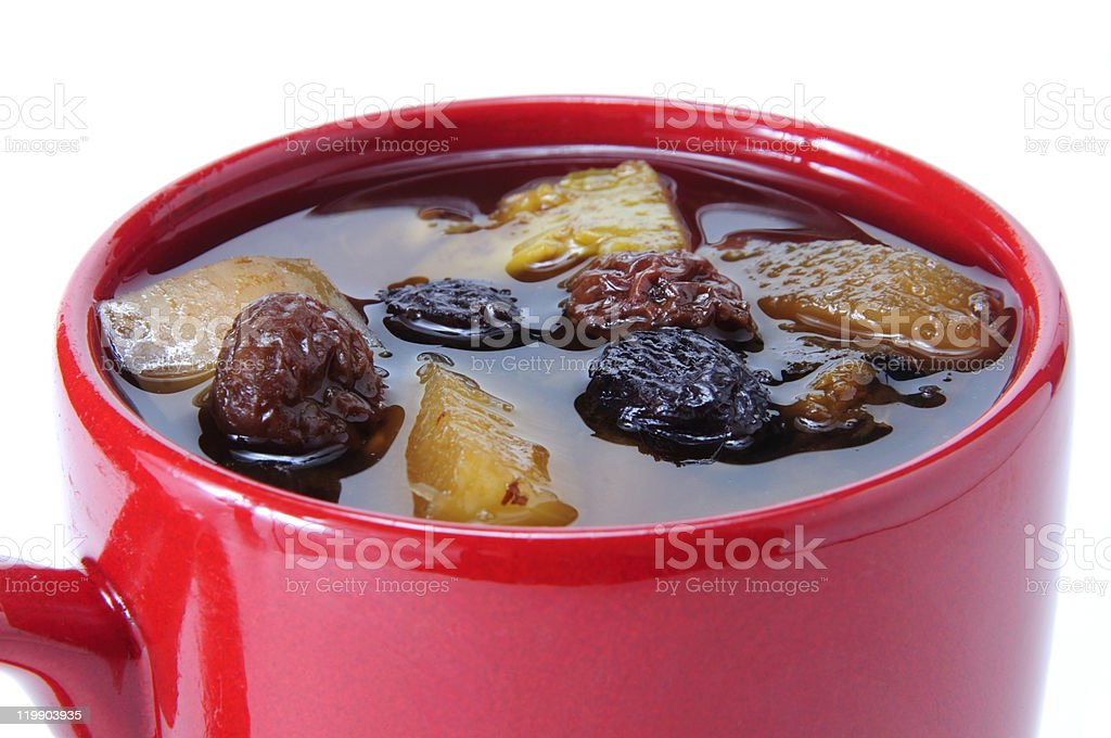 Fruit punch royalty-free stock photo