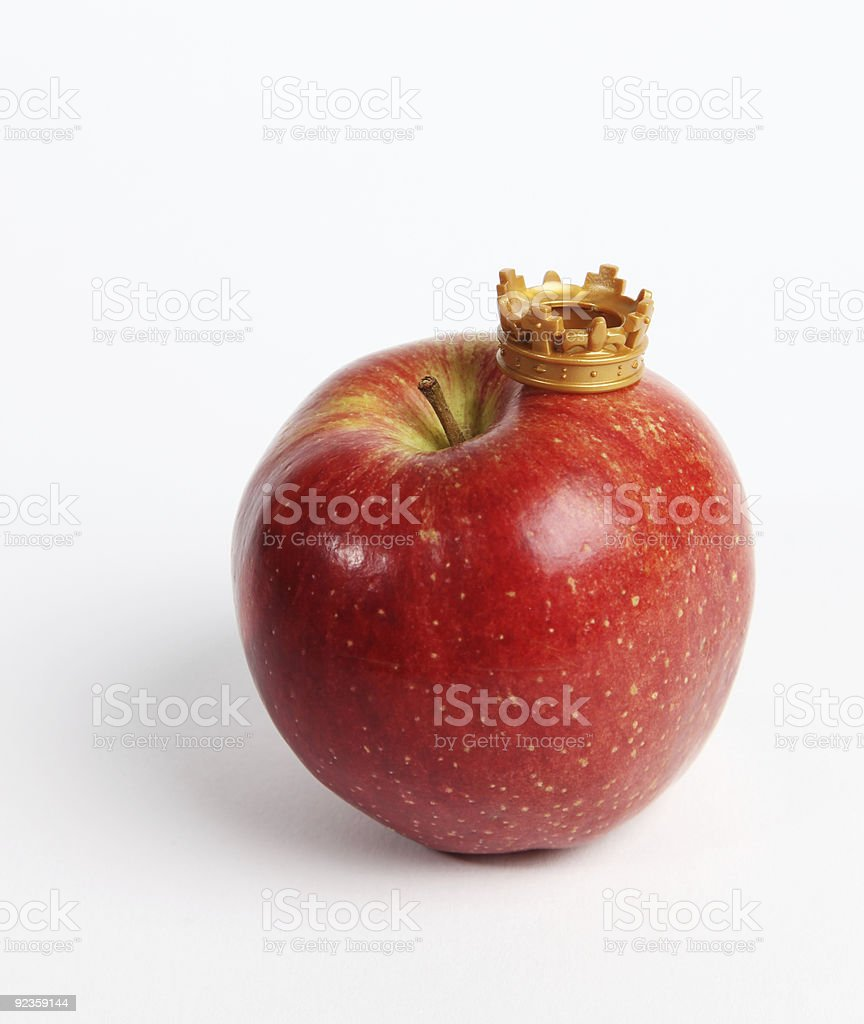 Fruit rules stock photo
