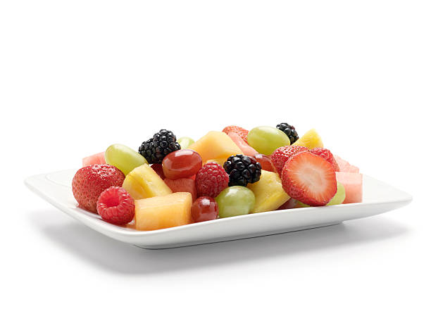 Fruit Salad Fruit Salad -Photographed on Hasselblad H1-22mb Camera fruit salad stock pictures, royalty-free photos & images