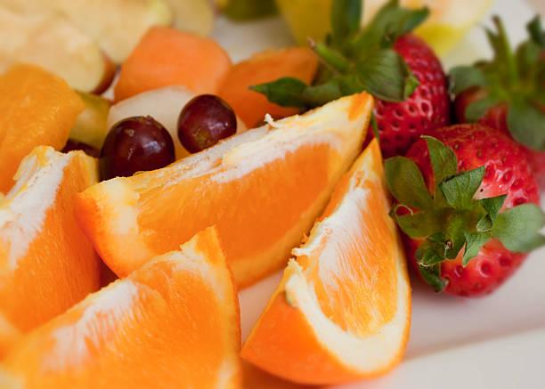 Fruit selection stock photo