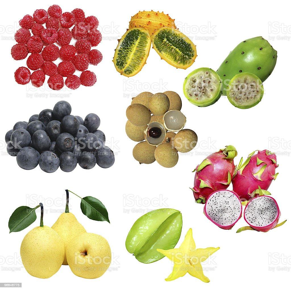 Fruit Set royalty-free stock photo