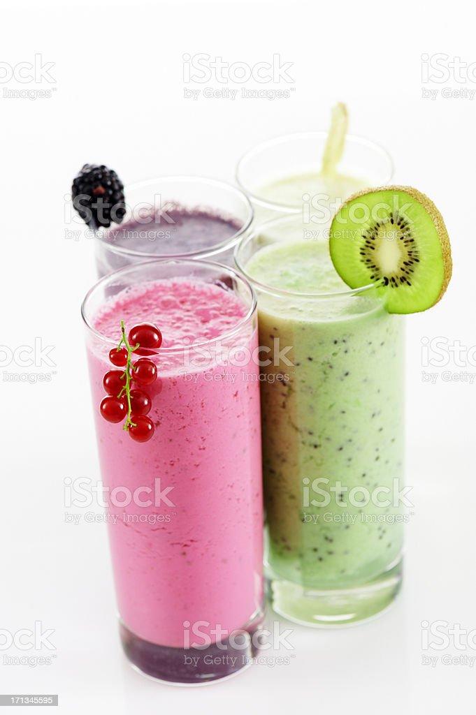 Fruit shakes royalty-free stock photo