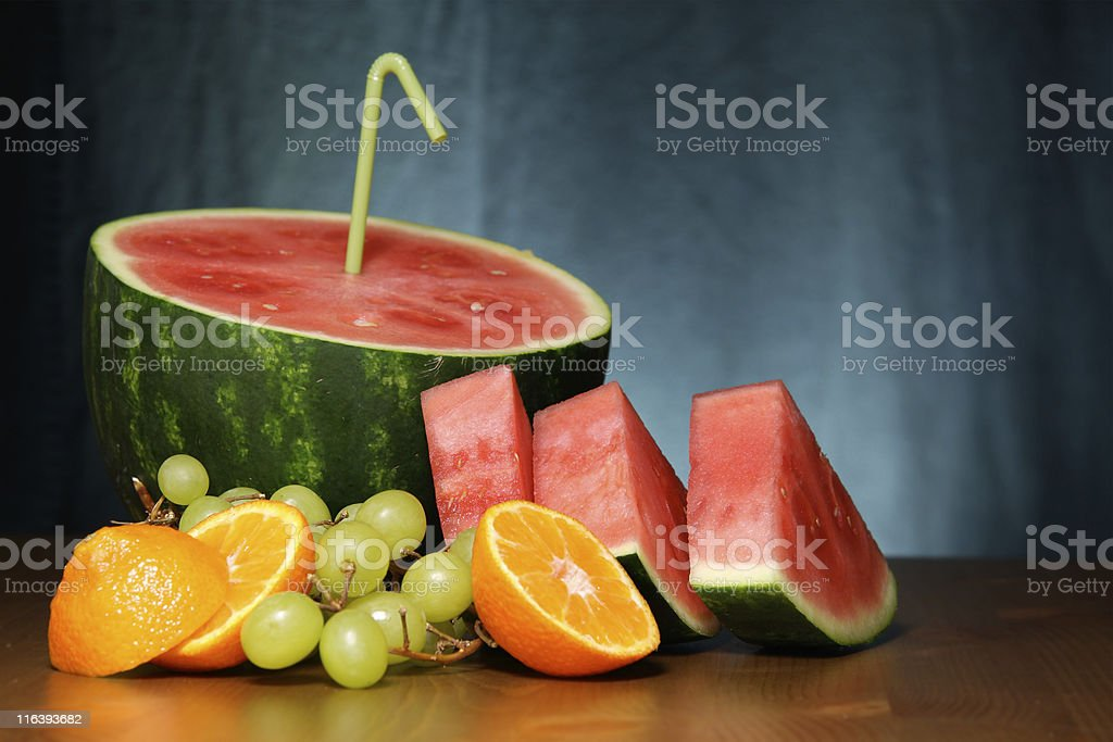 Fruit shot royalty-free stock photo