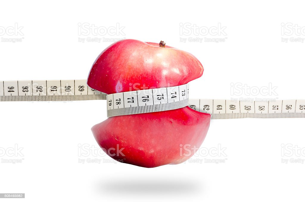 Fruit slimming healthy apple full of vitamins stock photo
