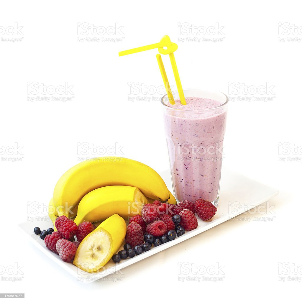 Fruit smoothie royalty-free stock photo