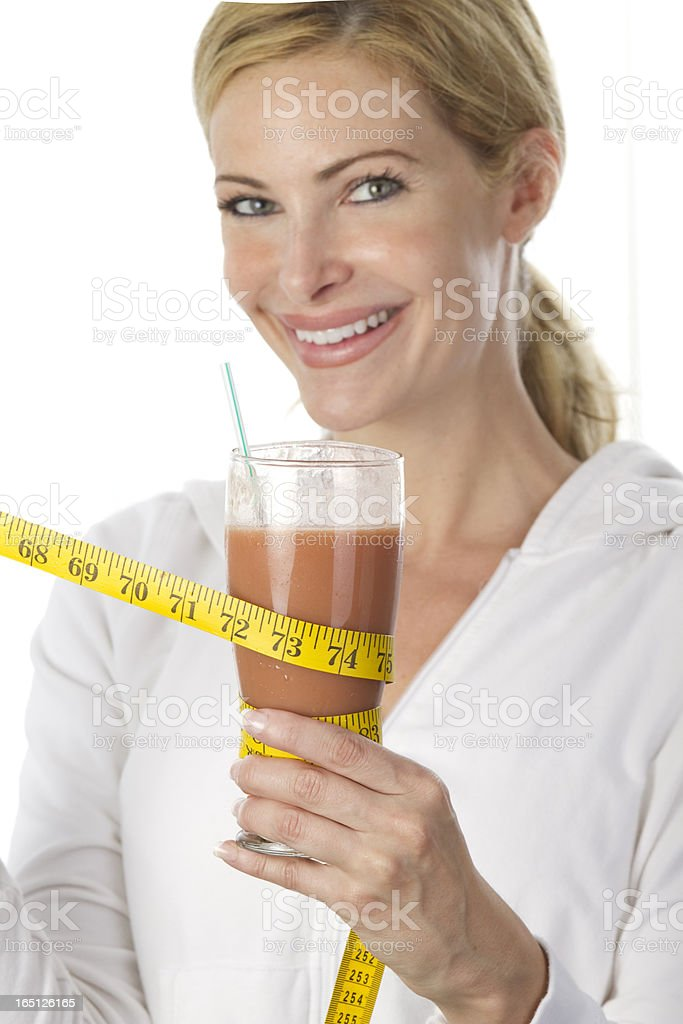 fruit smoothis royalty-free stock photo