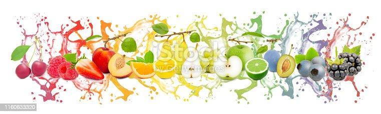 istock Fruit Splash Collection 1160633320