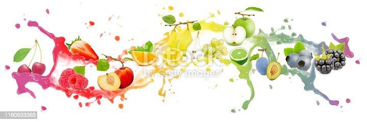 istock Fruit Splash Collection 1160633363