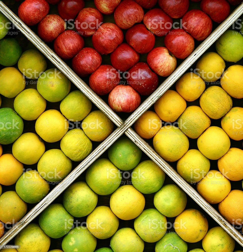 fruit square stock photo