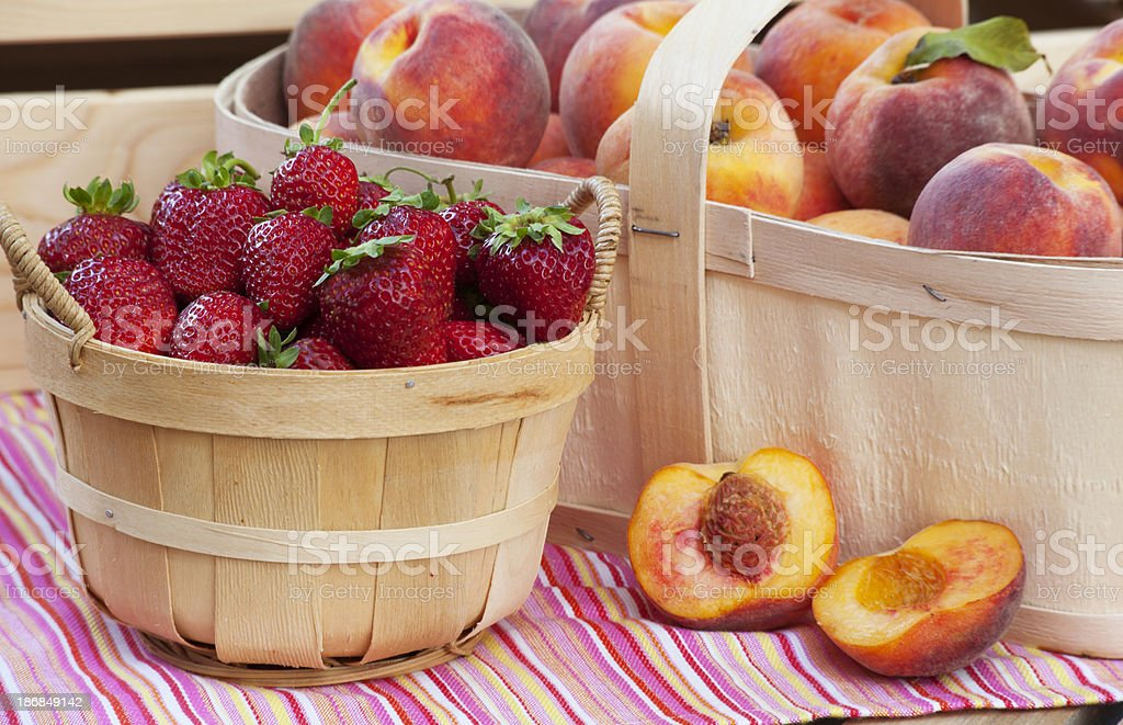 Fruit Stand stock photo