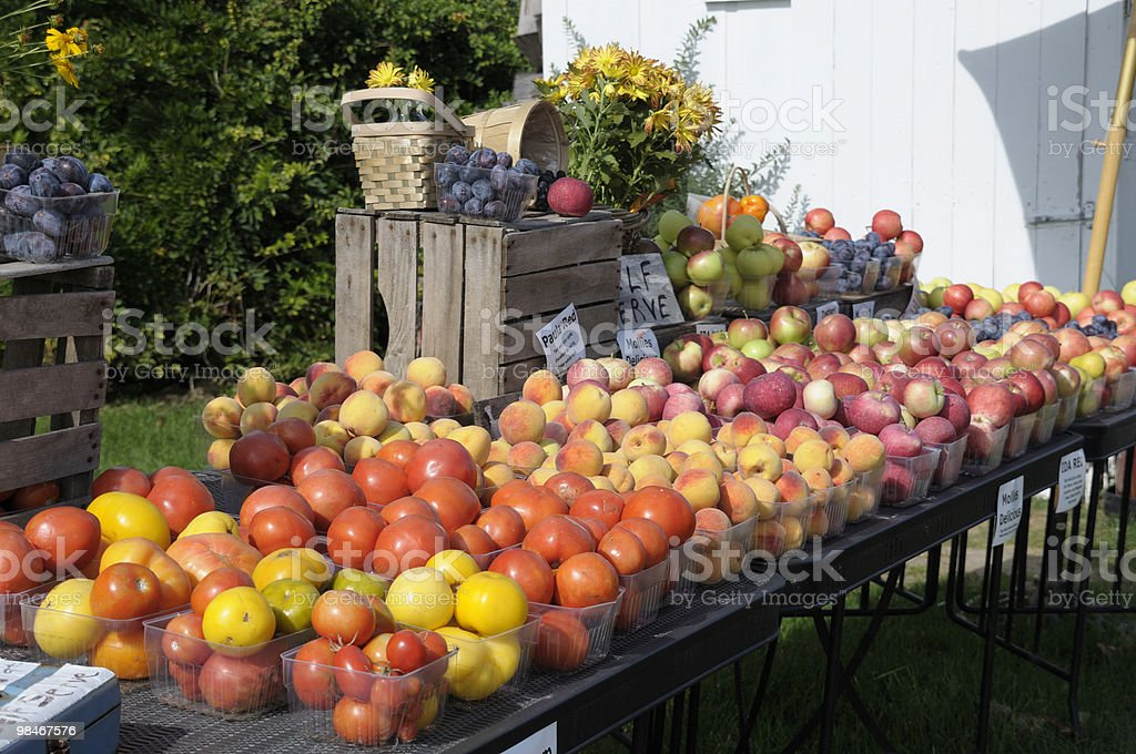 Fruit Stand royalty-free stock photo