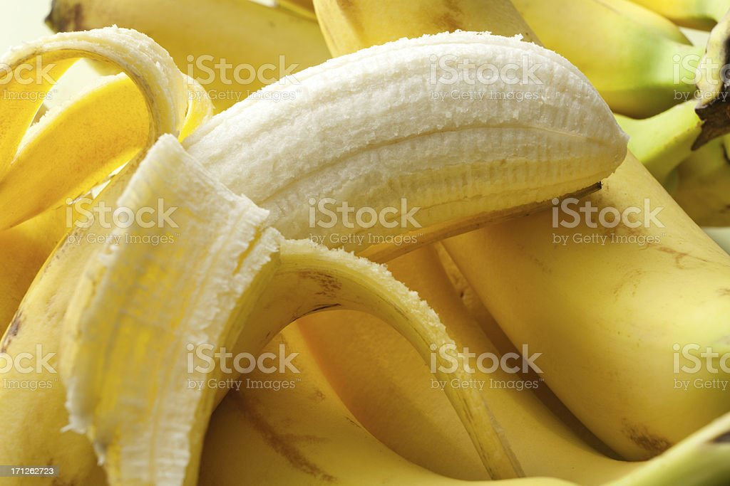 Fruit Stills: Banana royalty-free stock photo