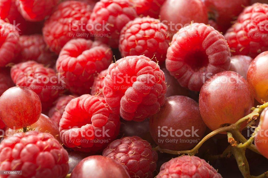 Fruit Stills: Raspberries royalty-free stock photo