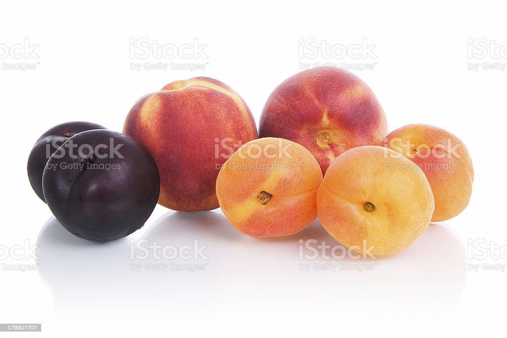 Fruit - stone fruits. royalty-free stock photo