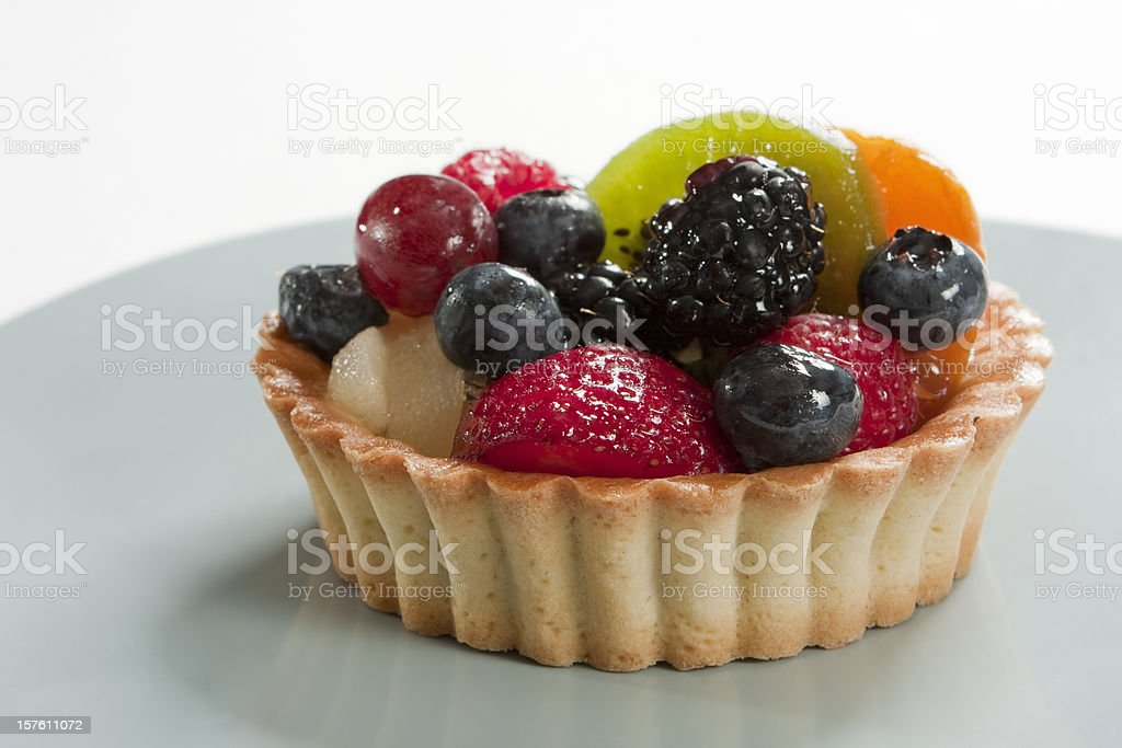Fruit Tart royalty-free stock photo