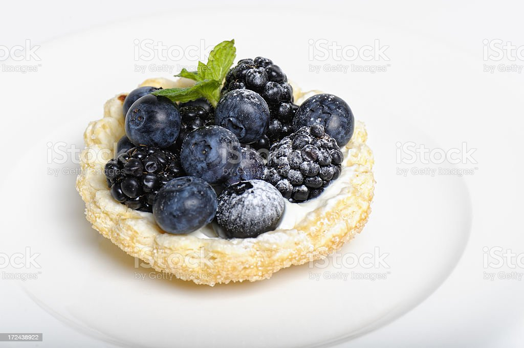 Fruit Tartlet royalty-free stock photo