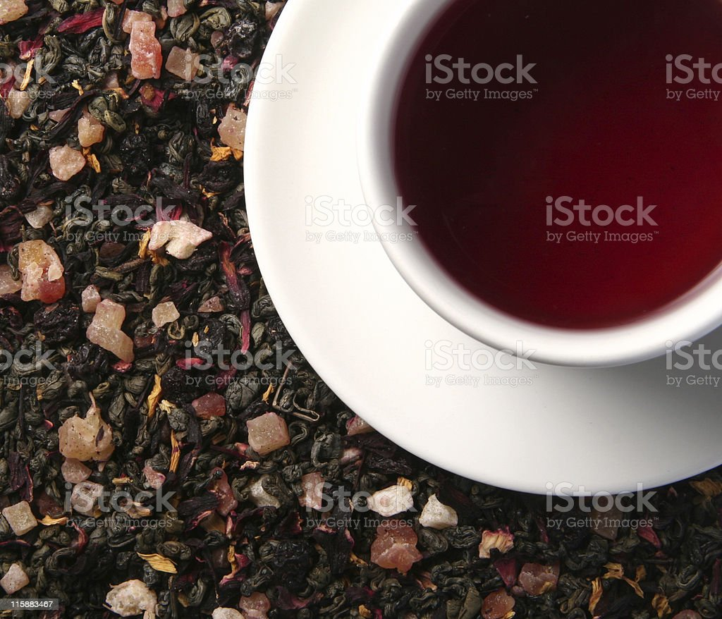 Fruit tea royalty-free stock photo