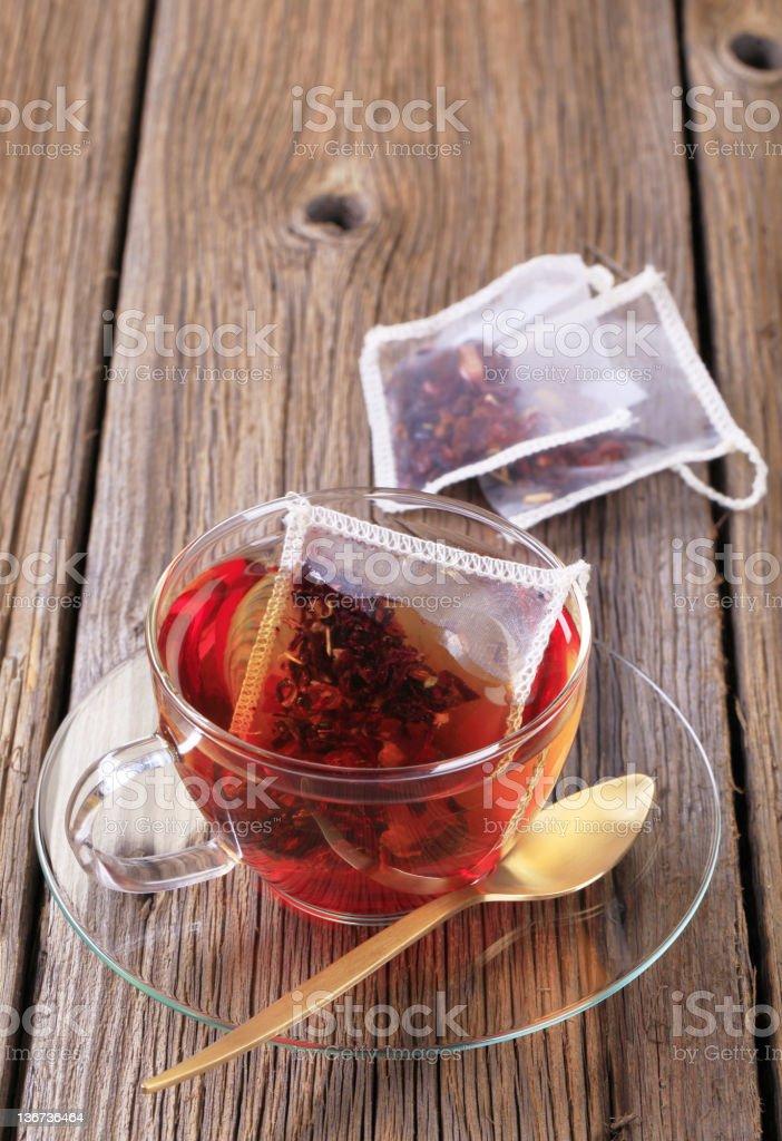 Fruit tea royalty-free stock photo