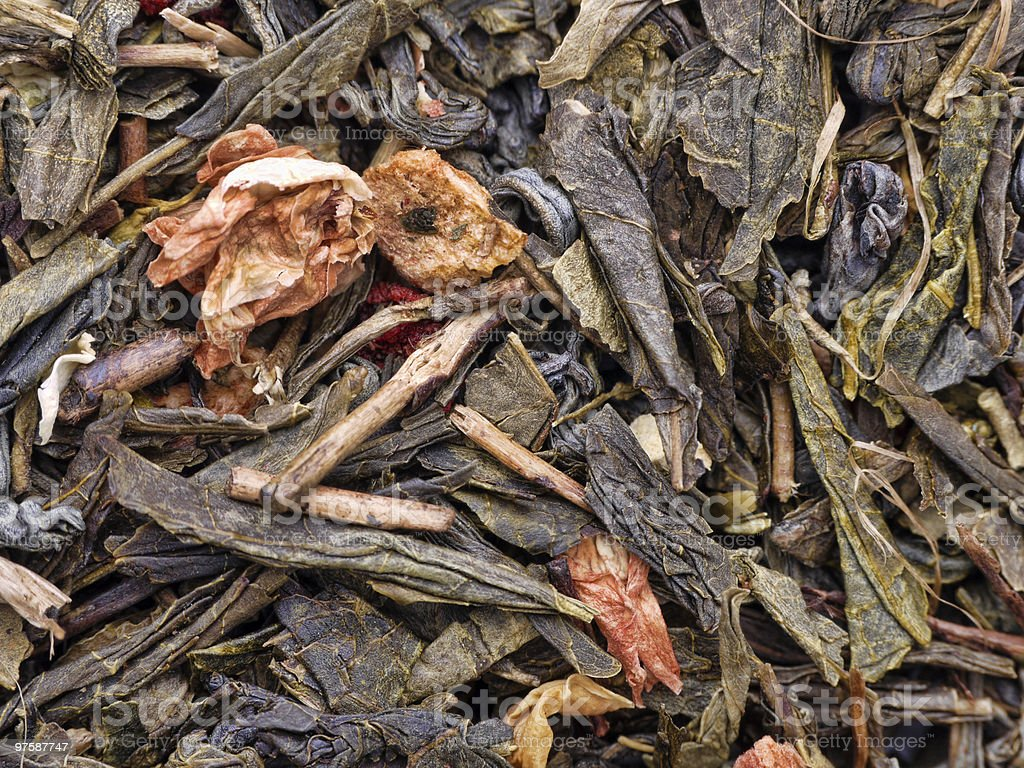 Fruit tea royaltyfri bildbanksbilder