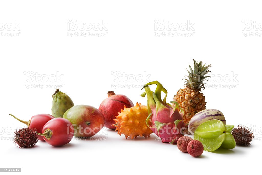 Fruit: Tropical Fruit Collection stock photo