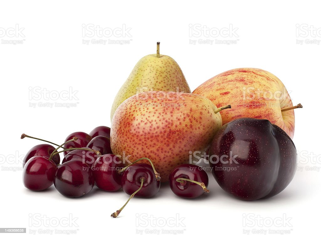Fruit variety royalty-free stock photo