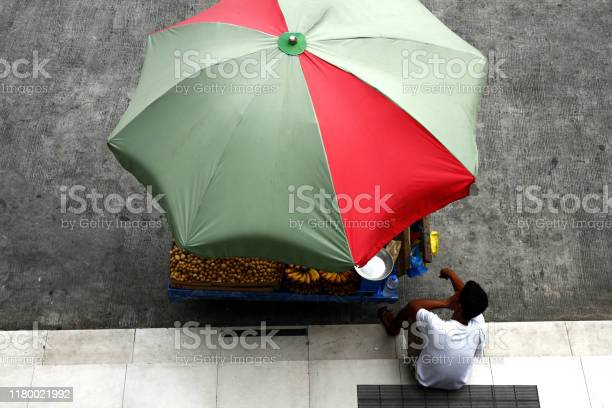 Fruit vendor selling banana and lanzones rests on sidewalk picture id1180021992?b=1&k=6&m=1180021992&s=612x612&h=vhqsr435jzcwbxhyojirkfksw seom gqhzspkhgmfk=