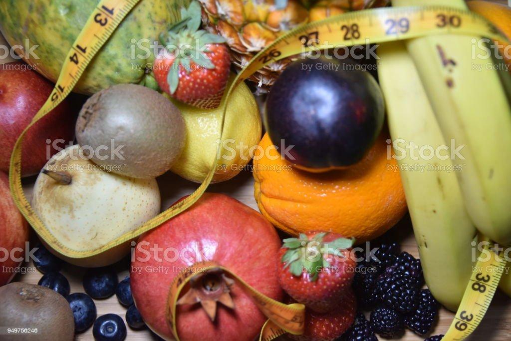 Perdida de peso con frutas