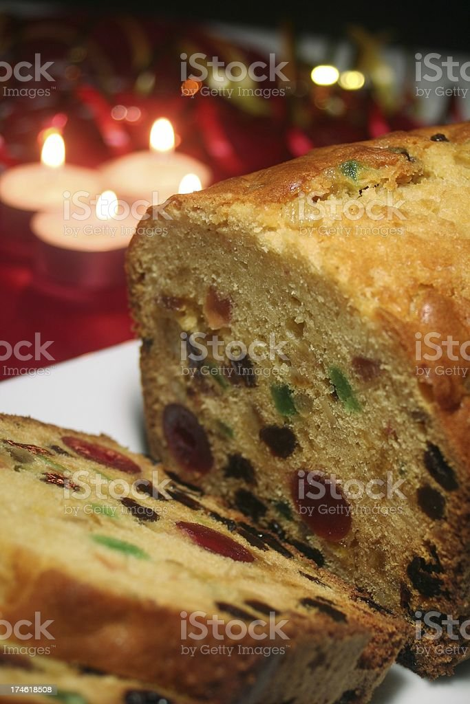 Fruitcake royalty-free stock photo